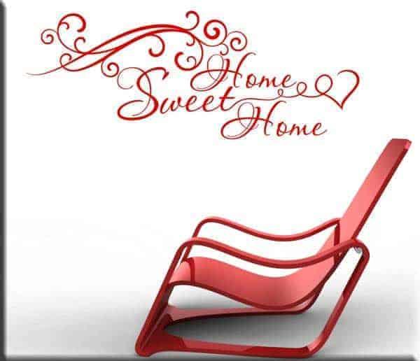 wall sticker sweet home