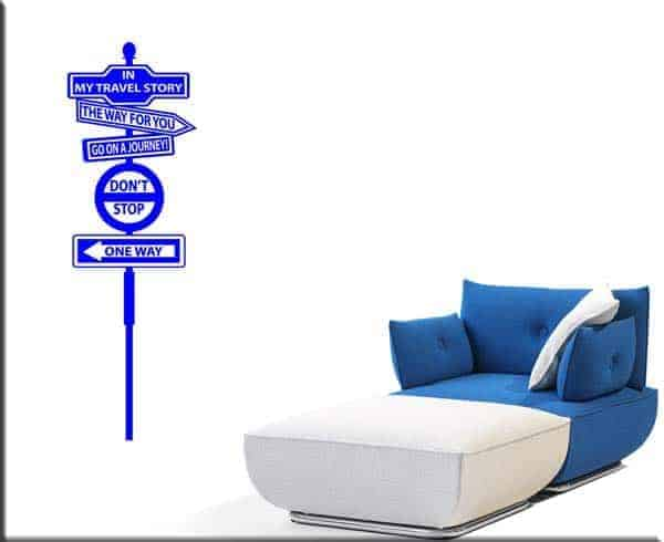 wall sticker travel story