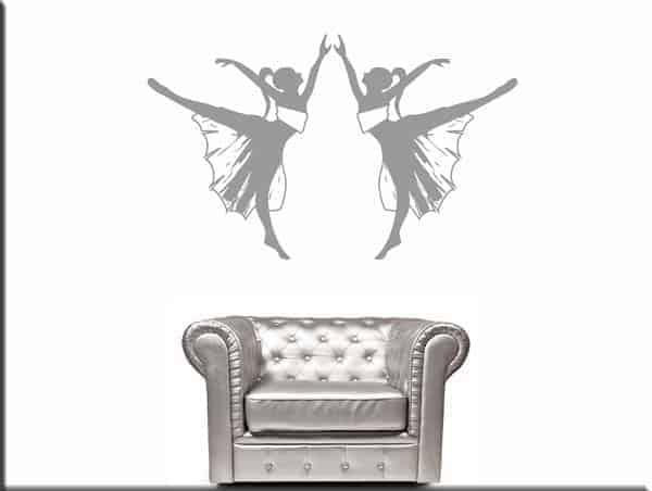 wall stickers ballerine danza