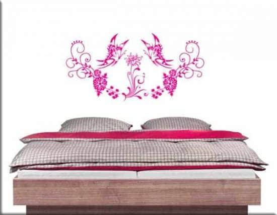 wall stickers farfalle floreali