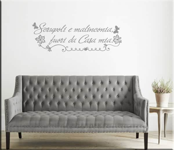 wall stickers frasi casa