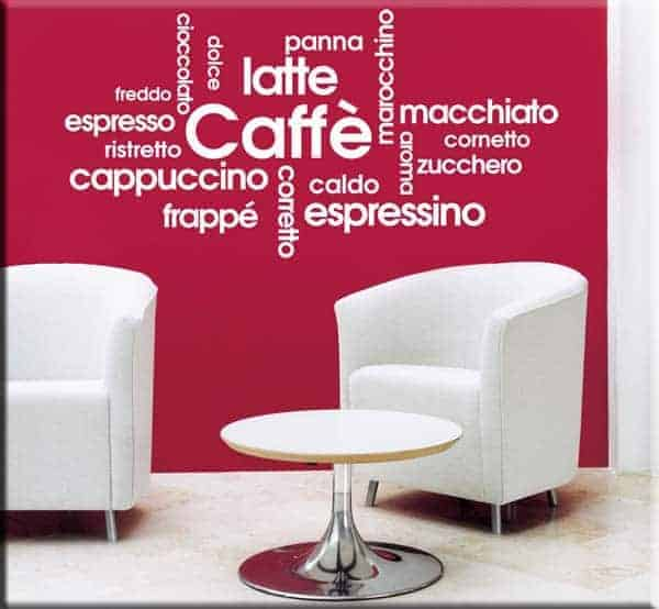 wall stickers prodotti bar