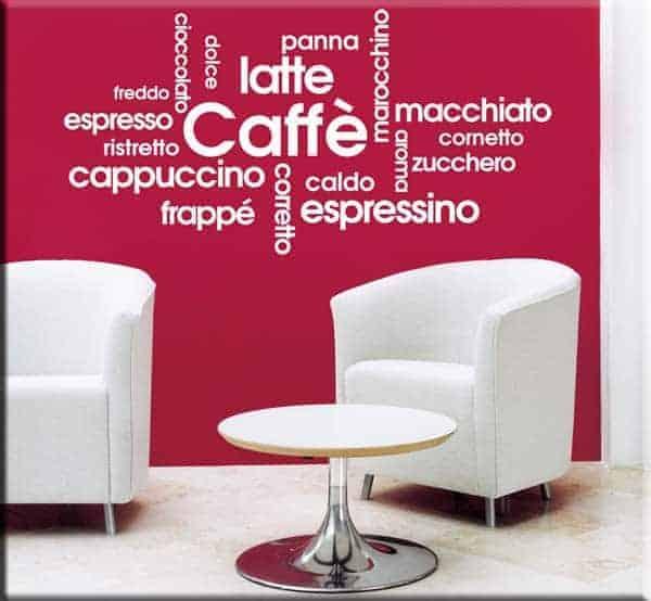 wall stickers prodotti bar