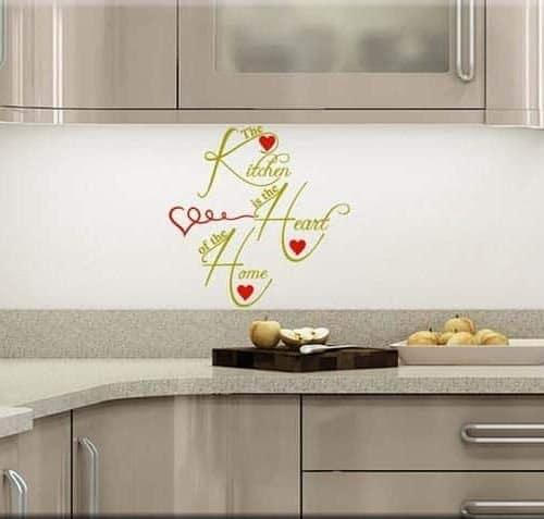 adesivi murali kitchen cucina