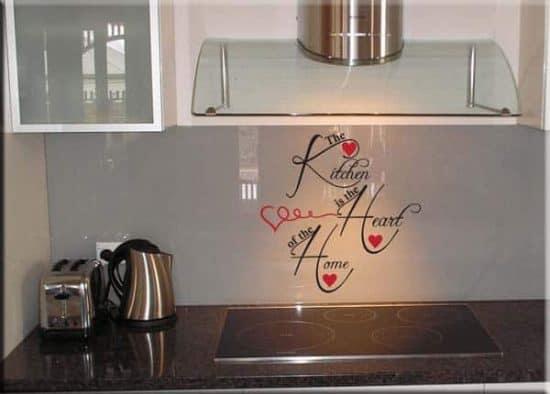 decorazioni adesive da muro kitchen cucina