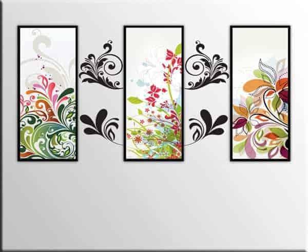 quadri moderni adesivi murali