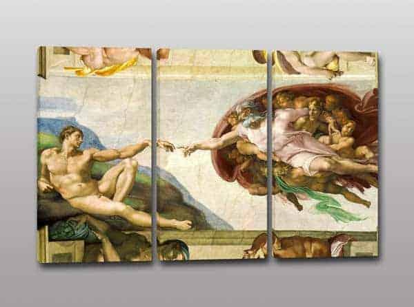 quadri moderni creazione Adamo