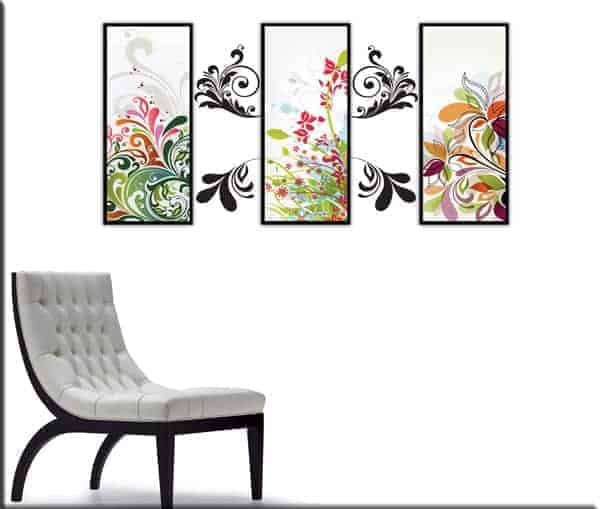 quadri moderni wall stickers