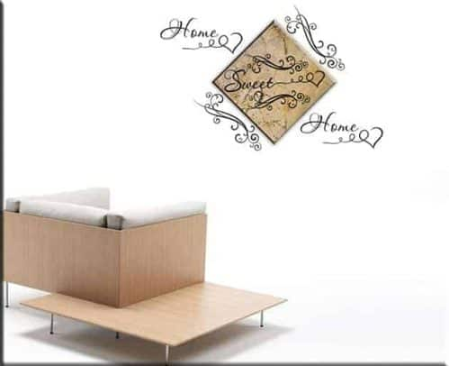 quadro SWEET HOME wall stickers