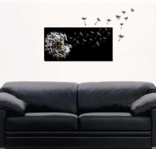 quadro adesivi murali soffioni