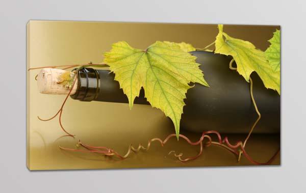 quadro moderno bottiglia vino