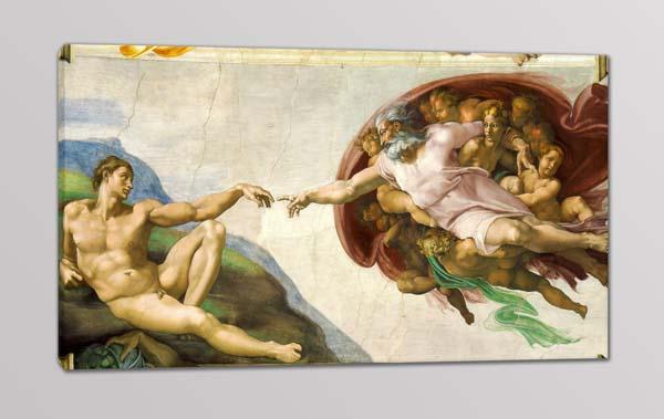 quadro moderno creazione di Adamo