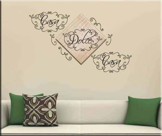 quadro moderno wall stickers casa