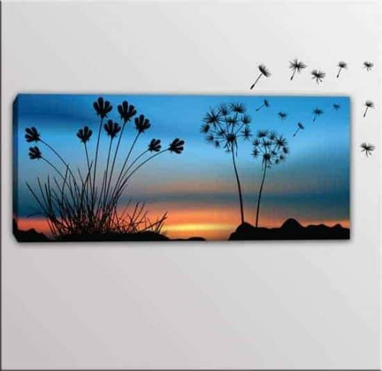 quadro moderno wall stickers soffioni
