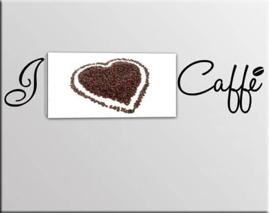 quadro wall stickers caffè bar