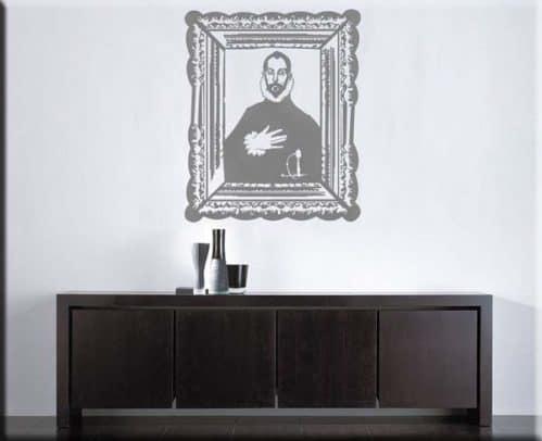 wall sticker El Greco cavaliere