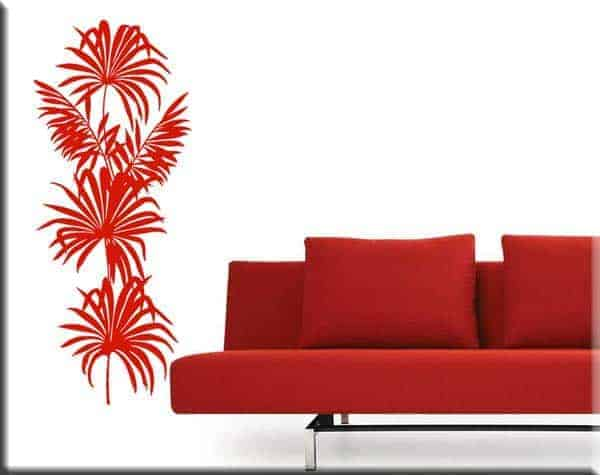 wall sticker pianta