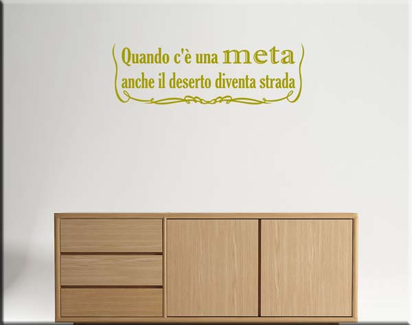 wall stickers frasi proverbio tibetano