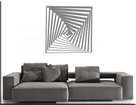 decorazione adesiva arte moderna