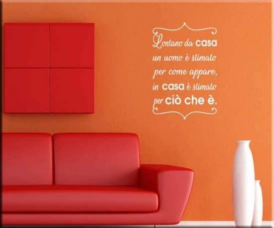 decorazioni adesive frase proverbio cinese