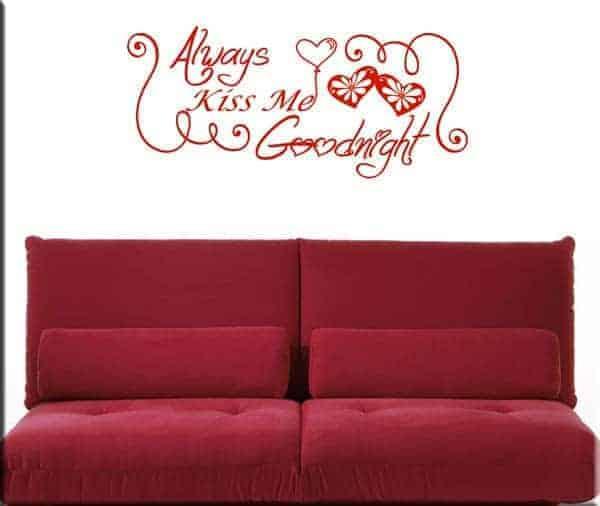 decorazioni adesive good night