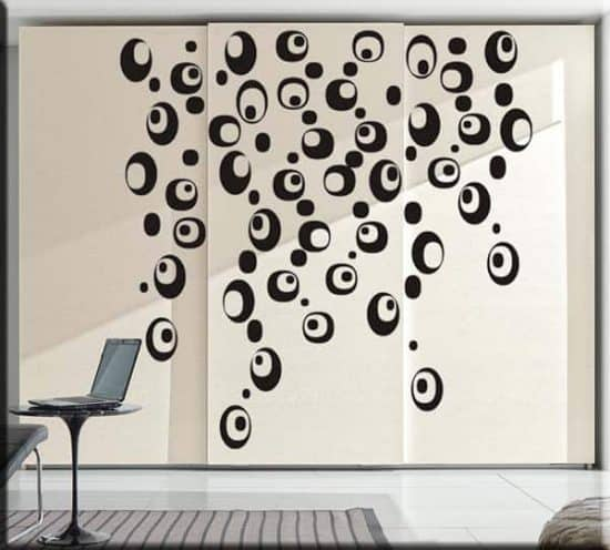 decorazioni moderne adesivi murali