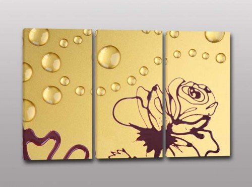 quadri moderni arte disegno fiore