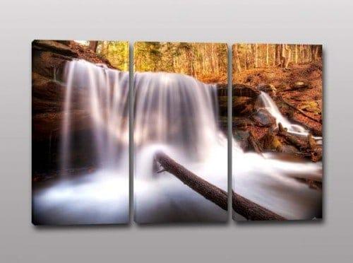 quadri moderni paesaggio cascate