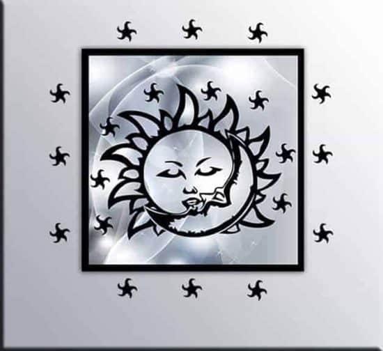 quadro moderno adesivi murali stelle
