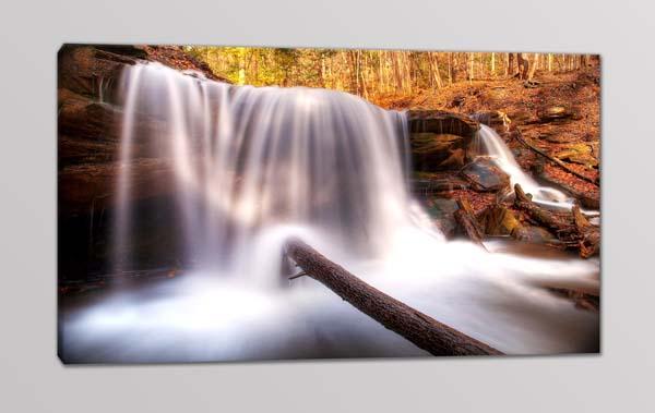 quadro moderno paesaggio cascate