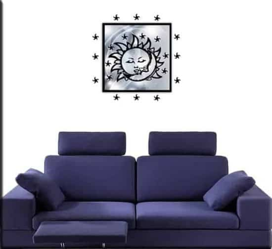quadro moderno wall stickers stelle