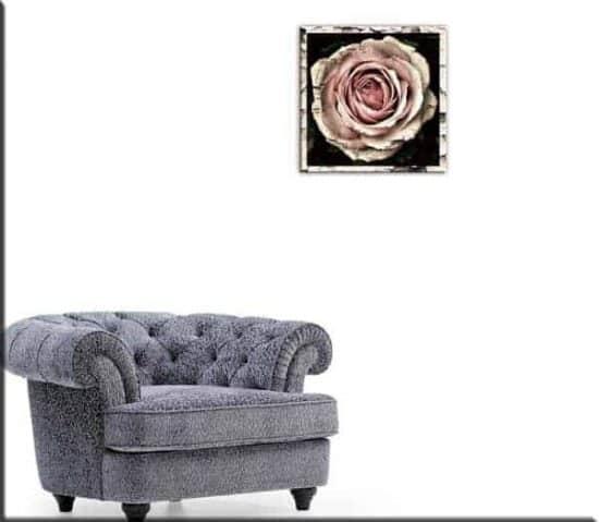stampa tela rosa vintage
