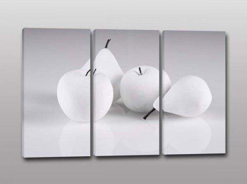 tris quadri moderni frutta cucina