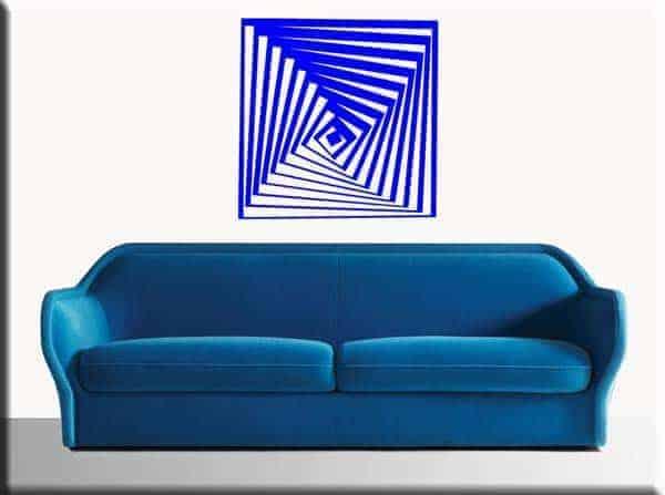 wall sticker arte moderna