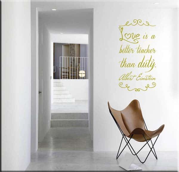 wall stickers frasi Albert Einstein