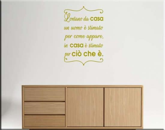 wall stickers frasi proverbio cinese