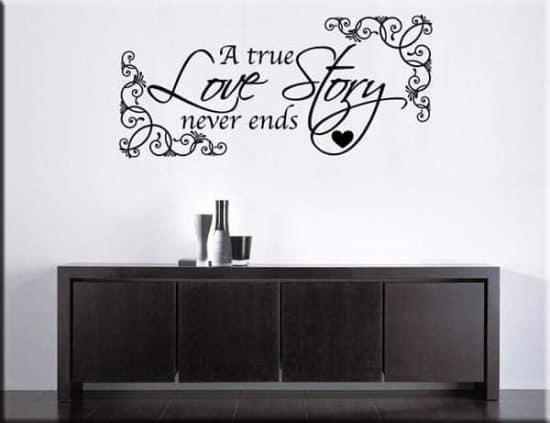 wall stickers true love