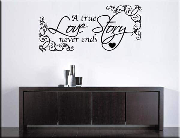 wall stickers true love