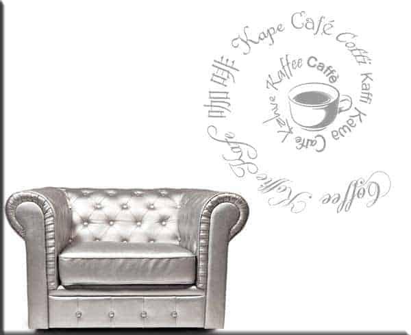 adesivi da parete coffee caffè bar