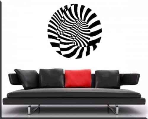 adesivi murali arte moderna