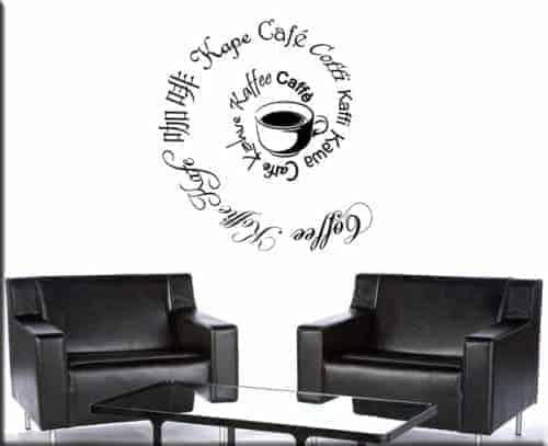 adesivi murali coffee caffè bar