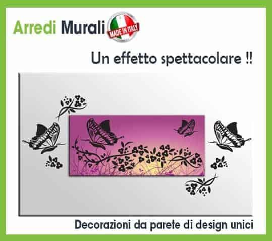 Decorazioni da parete adesive adesivi murali camera da - Numeri adesivi leroy merlin ...