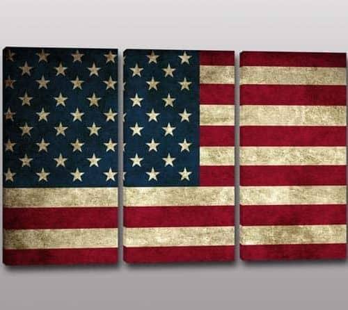 quadri moderni bandiera americana
