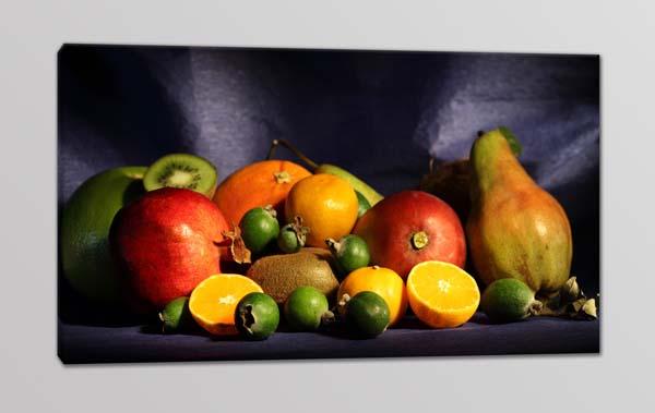 quadro moderno cucina frutta