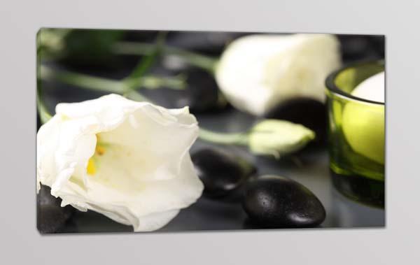 quadro moderno fiori benessere