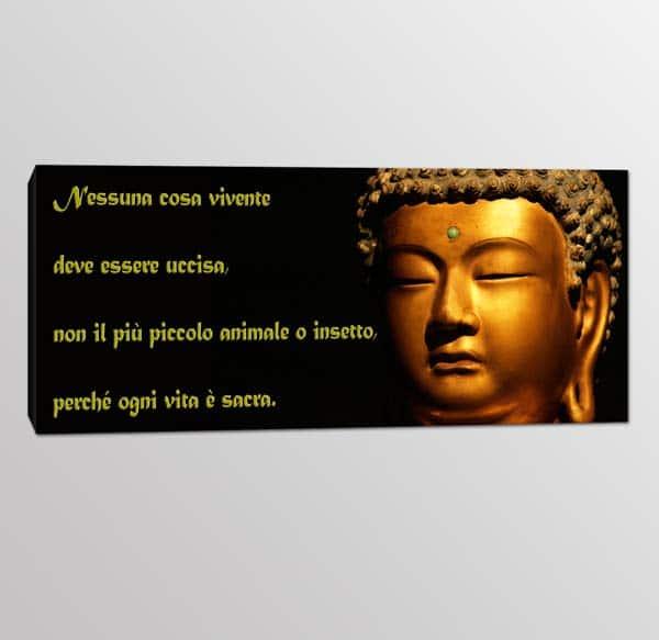 quadro moderno frase Buddha 2