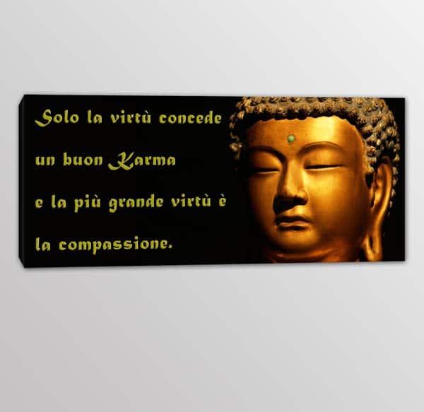quadro moderno frase Buddha 3