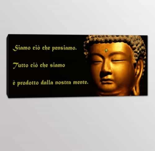 quadro moderno frasi Buddha