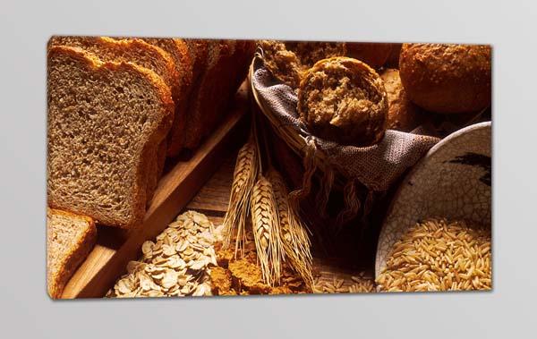 quadro moderno pane cereali