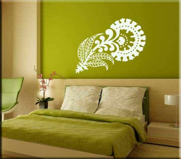 wall sticker floreale design